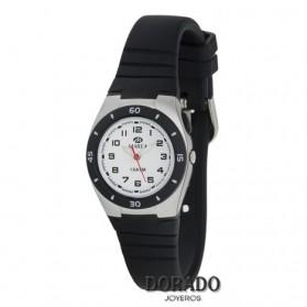 Reloj Marea niño correa caucho negra b25115/2