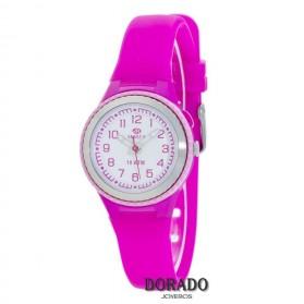 Reloj Marea niña caucho fucsia B25134/2