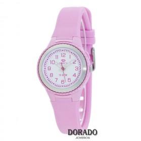 Reloj Marea niña caucho rosa B25134/3