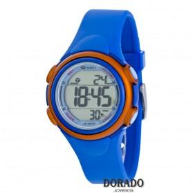 Reloj Marea niño caucho azul y naranja digital B44093/2