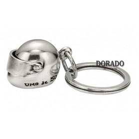 LLAVERO UNO DE 50 (CASCO) - USA LA CABEZA - LLA0155