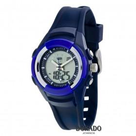 Reloj Marea caucho azul niño B35265/2