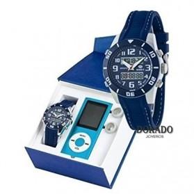 Reloj Marea niño caucho azul B35280/4