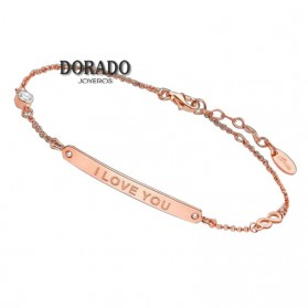 PULSERA LOTUS SILVER I LOVE YOU LP1649-2/3