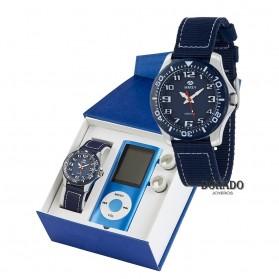 Reloj Marea niño nailon azul - B35278/5
