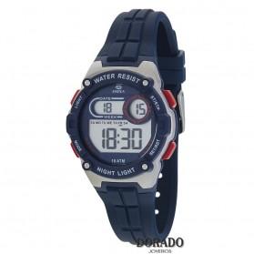 Reloj Marea niño caucho azul - B25154/3