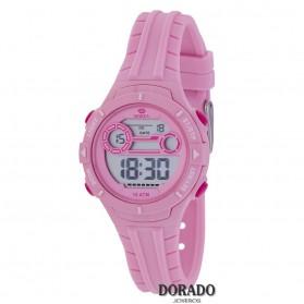 Reloj Marea niña caucho rosa - B25155/2