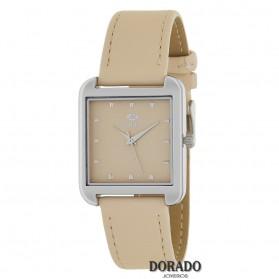 Reloj Marea mujer cuadrado piel crema - B41228/10