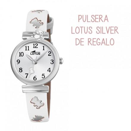 29a4b3aabf0d Nuevo Precio rebajado Reloj Lotus comunion niña piel blanca ositos  plateados - 18628 1