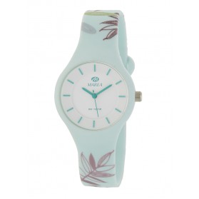 Reloj Marea silicona celeste flores colores B35325/44