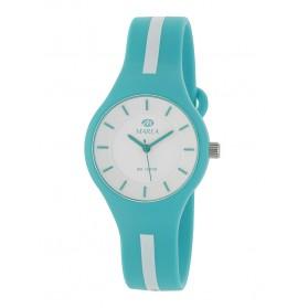 Reloj Marea silicona verde raya blanca B35325/14