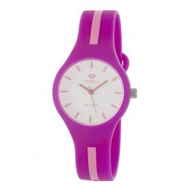 Reloj Marea silicona frambuesa raya rosa B35325/12