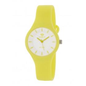 Reloj Marea silicona pistacho fondo blanco B35325/8