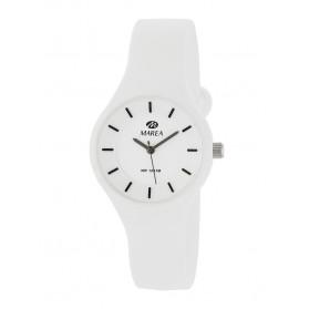 Reloj Marea silicona blanca fondo blanco B35325/2