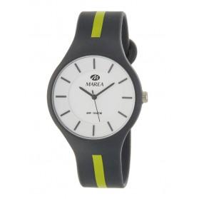 Reloj Marea silicona gris raya pistacho B35324/12