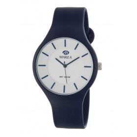 Reloj Marea silicona azul fondo blanco B35324/3