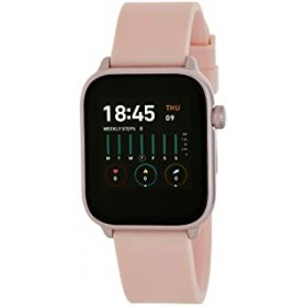 SMART WATCH UNISEX ESFERA CUADRADA ROSA