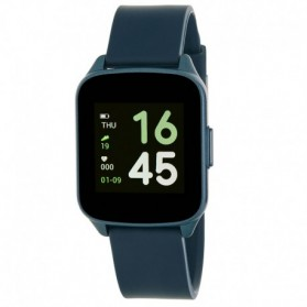 SMART WATCH UNISEX ESFERA CUADRADA AZUL