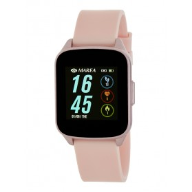 SMART WATCH CHICA ESFERA RECTANGULAR ROSA