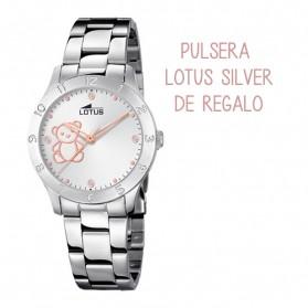 Reloj Lotus niña oso, Junior collection 18657/1