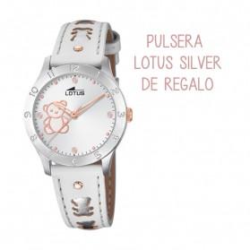 Reloj Lotus comunion niña piel osito 18657/A