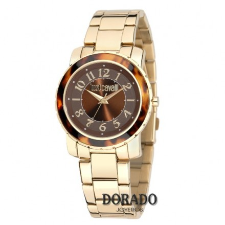 Reloj Just cavalli dorado carey R7253582501