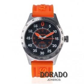 Reloj Superdry cuacho naranja SYG111O