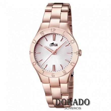 Reloj Lotus mujer acero rosa - 15898/1