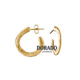PENDIENTES JOID´ART AROS DORADOS - ESTERGOLD. B3141AR063200