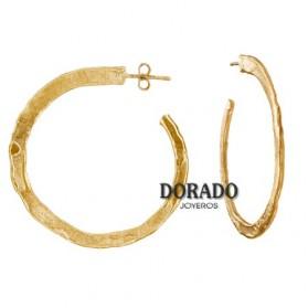 PENDIENTES JOID´ART AROS DORADOS - ESTERGOLD. B3141AR043200