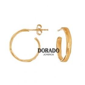 PENDIENTES JOID´ART AROS DORADOS - ESTERGOLD. B3141AR033200