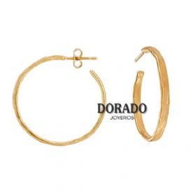 PENDIENTES JOID´ART AROS DORADOS - ESTERGOLD. B3141AR023200
