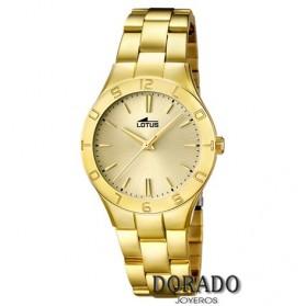 Reloj Lotus mujer acero dorado - 15897/1