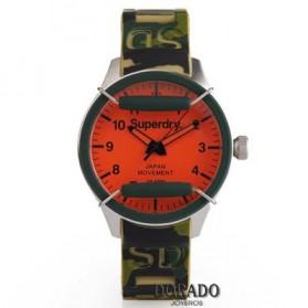 Reloj Superdry correa silicona camuflaje - SYG129N