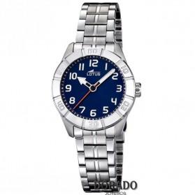 Reloj Lotus niño acero fondo azul marino 15943/2