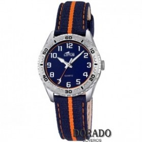 Reloj Lotus niño correa azul y naranja - 18171/2