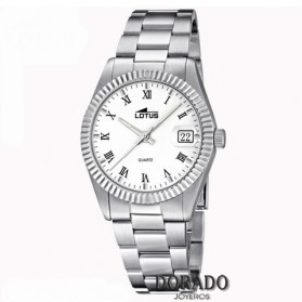 Reloj Lotus mujer acero fondo blanco - 15822/1