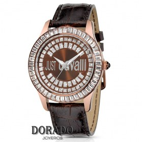 Reloj JUST CAVALLI PIEL MARRON R7251194555