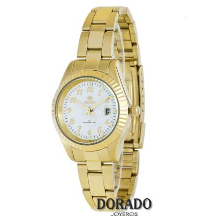 Reloj Marea dorado fondo blanco B36113/4
