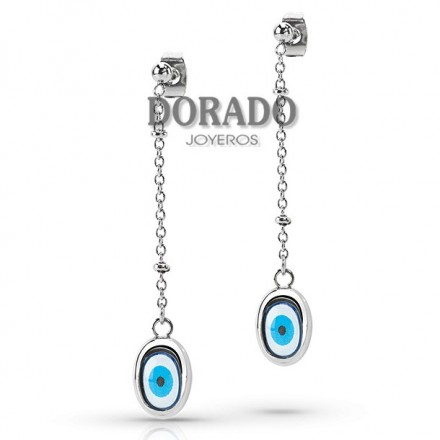 SMKZ06 Pendientes Miss Sixty Blue Eyes