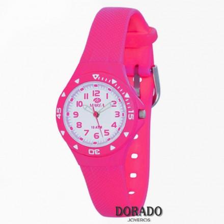 Reloj Marea niña caucho fucsia B25118/5