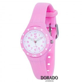 Reloj Marea niña caucho rosa B25118/3