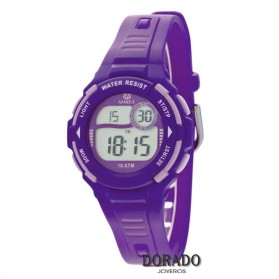 Reloj Marea niña caucho morado - B25133/3