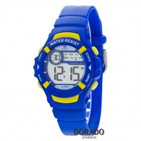Reloj Marea niño caucho azul amarillo B25132/3