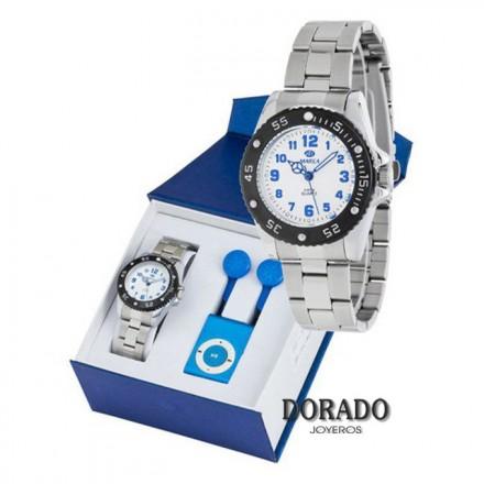 Reloj Marea niño plateado analogico B42158/2
