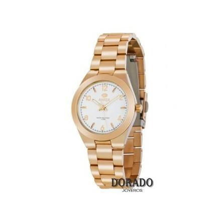 Reloj Marea mujer ip oro rosa fondo blanco B54077/4