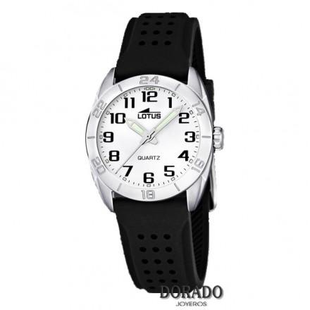 Reloj Lotus niño caucho negro 15830/2