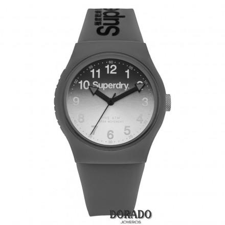 Reloj Superdry silicona gris fondo degradado SYG198EE
