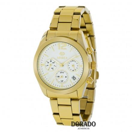 Reloj Marea dorado fondo blanco B41165/2