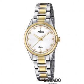 Reloj Lotus mujer acero bicolor 18386/1